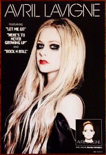 Avril Levigne Self-Titled Ltd Ed Discontinued Rare Poster +Free Pop/Rock Poster!