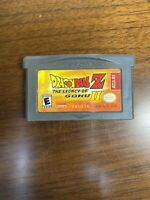 Dragon Ball Z The Legacy of Goku II 2 Nintendo Game Boy Advance GBA