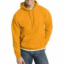 Hanes Men's Ecosmart Fleece Pullover Hoodie with Front Pocket ASSORTED --L6--
