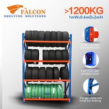 1Wx0.6Dx2mH,Tyres Wheel Storage Racks Stands Shelf Shelves Shelving Racking, S