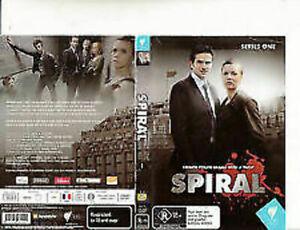 Spiral-2005-TV Series France-[Series One-2 Disc]-DVD vgc t129