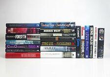 Bulk Lot of 20 x Crime Thriller Fiction Novels - Hardcover Books