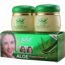 Aloe Essence Skin Whitening Face Cream Reduce Freckles Night Day Cream Beauty