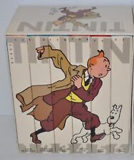 TINTIN French VHS box set (#1-6) Lot of 7 movies HERGE