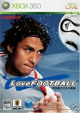 Used Xbox 360 Love Football: Aoki  MICROSOFT JAPAN JP JAPANESE JAPONAIS IMPORT