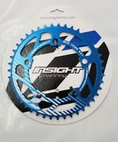 Insight 5 Bolt BMX Chainring 110mm BCD 43T Blue 3/32