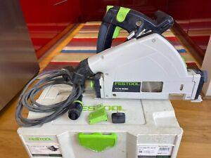 Festool TS 55 REBQ-PLUS GB 240V Circular/Plunge Saw in Systainer T-Loc