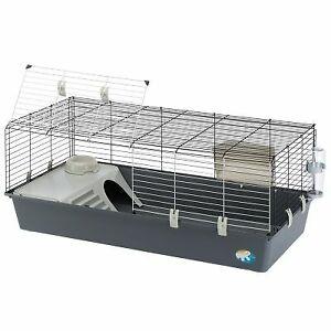 Ferplast Rabbit Guinea Pig Rat Cage Run Hutch 120cm Indoor Pet House Tier