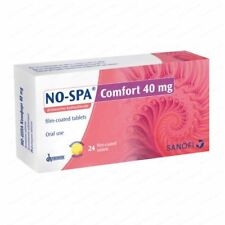 NO-SPA COMFORT 40mg. *24tabs. - MENSTRUATION PAIN, HEADACHE, PAIN RELIEF, MUSCKL