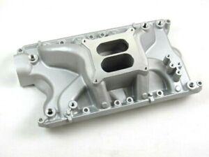 Small Block Ford 351W Aluminum Carb Intake Manifold 1500-6500 Satin E42458