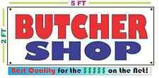 Full Color BUTCHER SHOP BANNER Sign NEW Larger Size Best Quality for the $$$
