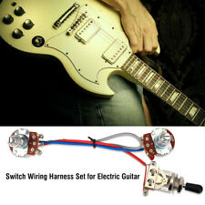 3-way Prewired Switch Wiring Harness Set for Double Electronic Electric Guitar