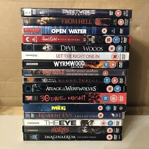 16 x Horror DVD Bundle, Very Good Condition