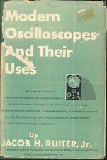 Modern Oscilliscopes & Their Uses Ruiter 1951 Barograph Cathode Ray Power Supply