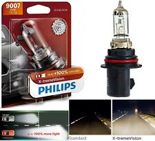 Philips X-Treme Vision 9007 HB5 65/55W One Bulb Head Light High Low Beam Upgrade
