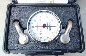 Dillon Dynamometer 20,000 lb Capacity x 200 lb Divisions