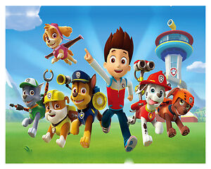 Paw Patrol - Children Cartoon Tv Show Series Large Poster / Canvas Picture Print