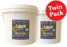 Twin Pack Lawn Pro Buffalo Premium Lawn Seed 7.5Kg by 2 Covers 1500sqm