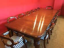 `AMAZING 12ft 1831-1901, Grand English Victorian Cuban mahogany dining table