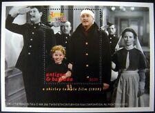 SHIRLEY TEMPLE STAMPS SOUVENIR SHEET THE LITTLE PRINCESS MNH ANTIGUA & BARBUDA
