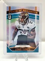 2019 Panini Unparalleled Leonard Fournette Feats of Strength Patch JAGUARS
