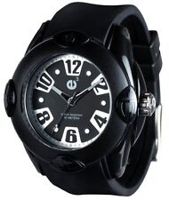 Tendence Rainbow Unisex Watch Black 3H 52mm Hi-Tech Polycarbonate NEW