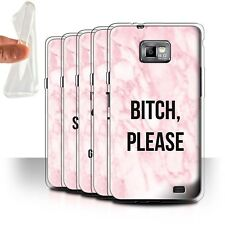 STUFF4 Gel/TPU Case/Cover for Samsung Galaxy S2/SII/Funny Marble Diva Fashion