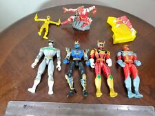 Power Rangers Collection  Lot Of 7 1997 To 2005 Bandai and other