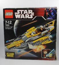 7669 LEGO STAR WARS THE CLONE ANAKIN'S JEDI STARFIGHTER 99% COMPLETO