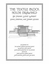 Frank Lloyd Wright Textile Block House Drawings - Architectural Plan Book