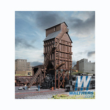 Walthers 933-3823 Wood Coaling Tower - N Scale Kit - New Old Stock