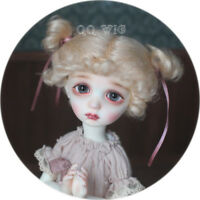 QQ-40A Blonde Color BJD Doll Mohair Wig {Dolly Planet} 1/8;1/6 ;1/4  *Micky*