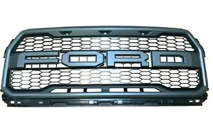 RAPTOR Truck Grille W/O FRONT CAMERA without Marker Lamps Front Upper OEM Grill