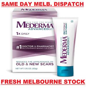 MEDERMA Advanced Scar Gel Cream Treatment 50g Skin Care Old & New Scars