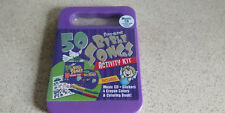 50 Bible Sing-Along Songs Activity Kit Music Cd Stickers Crayons Coloring Bk New