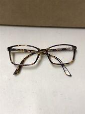 VERSACE Eyeglasses VE 3163 992 52mm 17 Striped Brown-Honey-Blue made in Italy