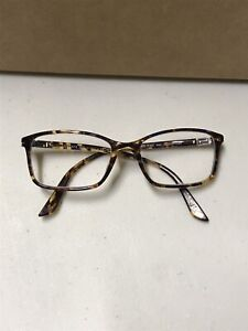 VERSACE Eyeglasses VE 3163 992 52mm 17 Striped Brown-Honey-Blue made in Italy