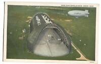 Postcard Good Year Zeppelin Dock Akron OH