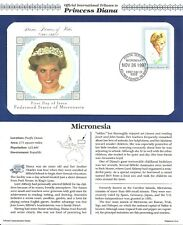 PRINCESS DIANA FIRST DAY COVER STAMP FROM MICRONESIA