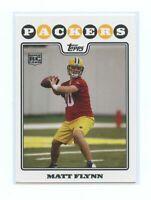 2008 Topps #342 Matt Flynn Green Bay Packers Rookie Card