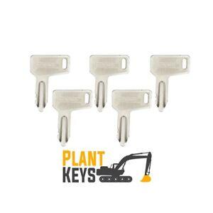 Yanmar 301 (Set of 5) Excavator Keys 933110 Wheel Loader