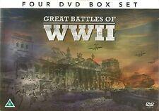GREAT BATTLES OF Ww11 - 4 DVD BOX SET - BLITZKRIEG STALINGRAD BERLIN World War 2