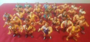 1991 VINTAGE! WWF! WWE Titan Sports Hasbro Wrestling Figure Lot of 31