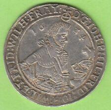 Sachsen-Altenburg 1/2 Taler 1624 sehr selten sehr schön nswleipzig