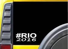 "Rio Sticker *J749* 8"" vinyl swimming lifeguard swimmer olympics"