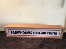 Vintage Hospital First Aid Center Advertising Light Display Box