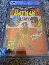 BATMAN #181 SILVER AGE CGC GRADED 4.0 POISON IVY 1ST APPEARANCE KEY!