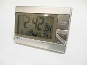 SEIKO Alarm Clock World Travel GLOBAL RADIO WAVE CONTROL QHR 016