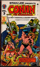 CONAN THE BARBARIAN 3 - Marvel Comics Tempo Books Edition - 1978