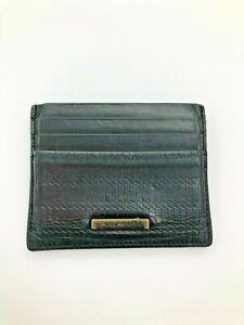 Emporio Armani credit card holder men  leather wallet